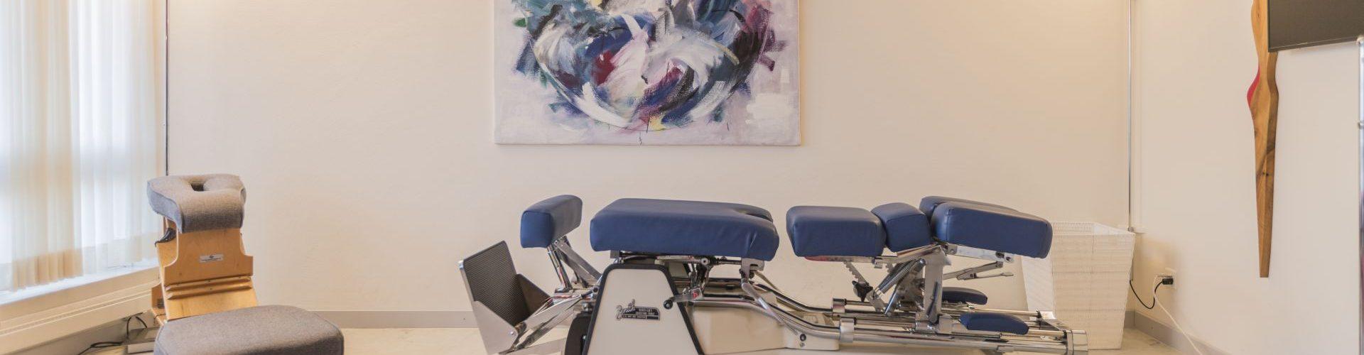 Behandlungsraum Chiropraktik